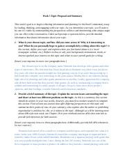 Macaraeg-English 112-Topic Proposal and Summary