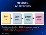 Memory with notes
