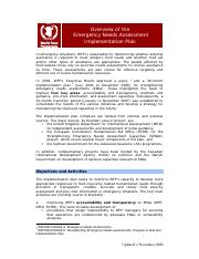 WFP Emergency Needs Assessment Plan.pdf