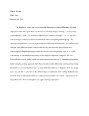 Beethoven essay questions piano.docx