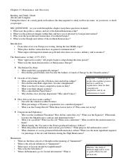CH 10 study guide