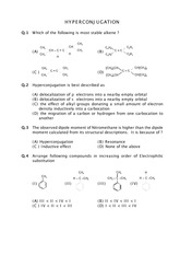 Questions on Hyperconjugation