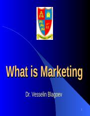 What is Marketing 93 slides