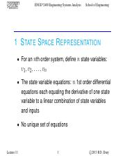 Lecture 11 - Oct.15.2013 - State Space & Block Diagrams