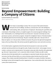 Beyond Empowerment_ Building a Company of Citizens.pdf