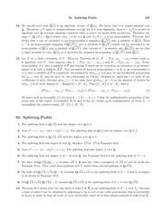 Homework J Solutions on Abstract Algebra
