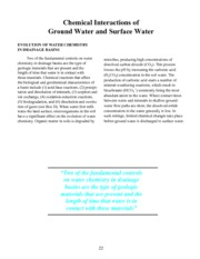 Winter, Thomas C. et al. 1998. Ground Water and Surface Water- A Single Resource. U.S. Geological Su