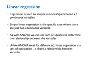 Lecture14 Linear regression for Natural Resources Statistics