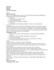 Management 300 Class Notes (Exam 3)