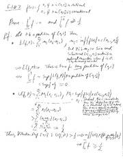 Advanced Calc 1: Homework 8 Solutions