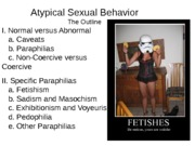 Ch 15 Atypical Sexual Behavior