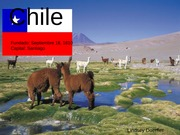 Student generated Chile PowerPoint