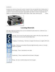 Introduction printers