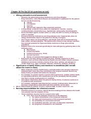 Adult Exam 2 Study Guide