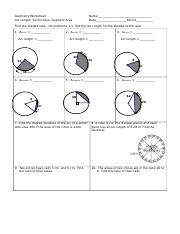 arc-length-sector-area-segment-area-ws.doc - Geometry Worksheet Arc ...