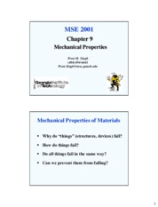 Chapter9-Mechanical Properties