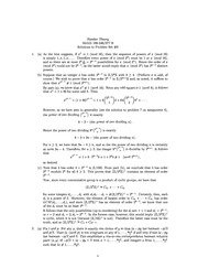 MATH 346 Problem Set 6 Solutions