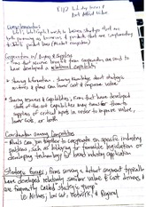 Strategic Management Class Notes 5
