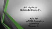 BP Highlands