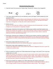 Chemical bonding study guide answers.doc