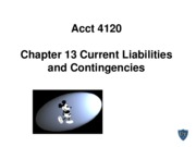 Acct 4120 Chapter 13 Spiceland 5th edition