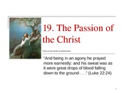 19 The Passion of the Christ