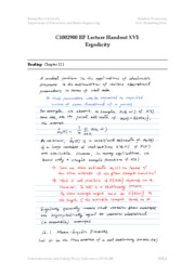 [RP]Lecture Note XVI(temp)