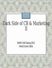 19 - Dark Side and Innovation II