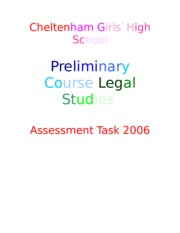 1148901705_2006_Legal_Studies_Assessment_Task