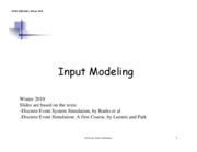 input_modeling