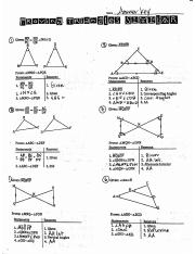03.22 Similar Triangle Proofs practice ANSKEY (1)