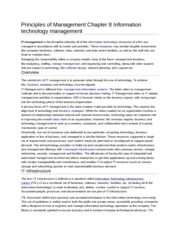 principles of management chapter 4 Bmgt 1327 - principles of management – internet course unit assignments unit i  a chapter 1, page 34 – develop your career potential interview one practicing manager and complete steps 1 and 2  b  a chapter 12, page 464 & 465: management team decision.