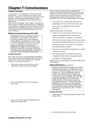 Chapter 7 (2) Study Guide
