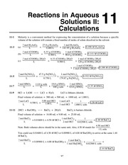 Chemistry by Whitten, Atwood, Morrison Chapter 11 solutions