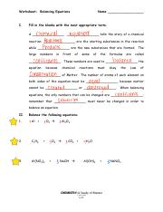 3 Pages Balancingequations Pdf