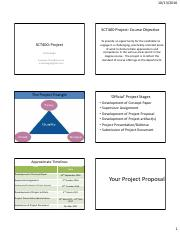 Your Project Proposal