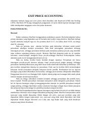 EXIT PRICE ACCOUNTING.doc