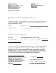 Niumataiwalu_Selby_Arch 491-92 Thesis Proposal Form.2016