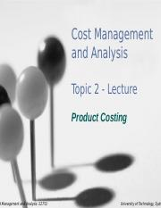 Lecture Topic 2 - Product Costing(3).pptx