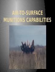 Objective 2a GP air to surface munitions.pptx