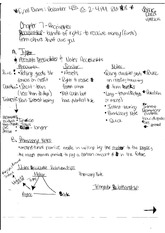 Accounting Receivables Notes