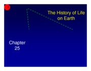 Ch 25 - The history of life on earth (1 slide per page)-2