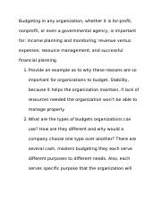 unit 1 Budgeting DB.docx
