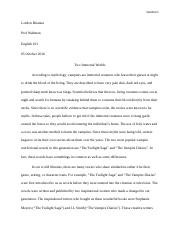 Gordon-Compare and Contrast- Final draft.docx
