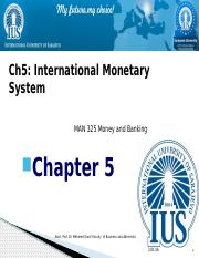 Chapter 5 International Monetary System.pptx