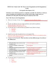 BIO 101 Unit 2 study Guide.doc
