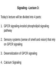 Lecture 22 Signaling 3-2014 + clicker