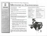 Mechanical  Engineering Information