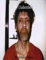 The Unabomber.ppt