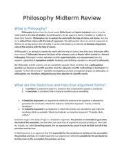 Philosophy Review